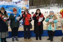 Видео: Выступление Микшинского сельского поселения на Кубке главы Лихославльского района по лыжным гонкам