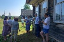 В деревне Маханы Микшинского сельского поселения прошёл сход граждан
